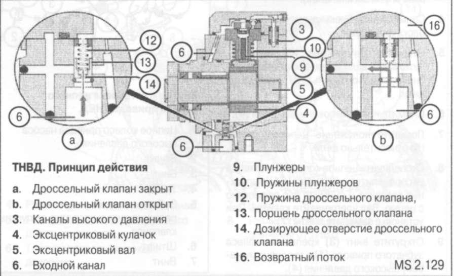 Эксцентриковый вал (5) с