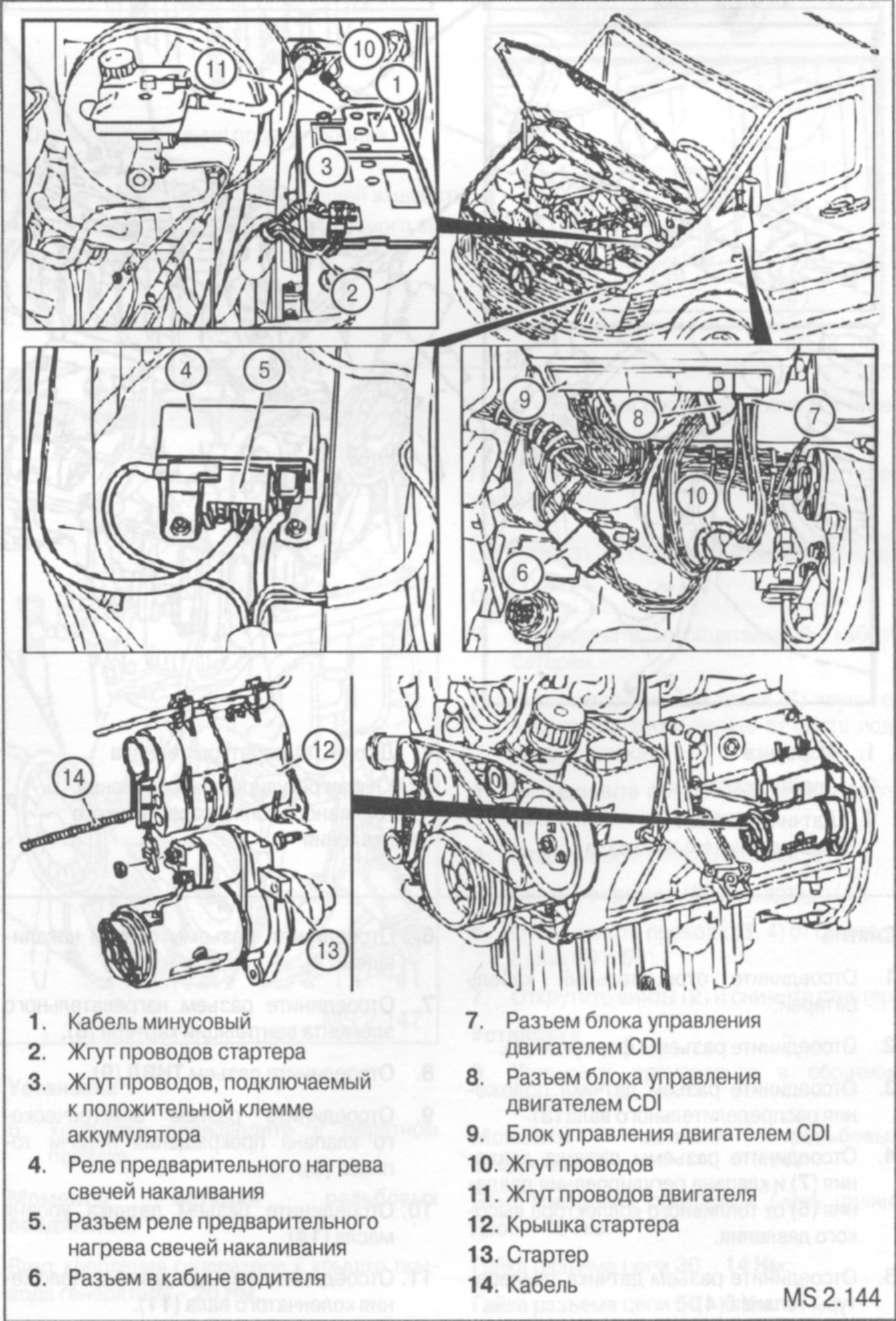 4.2.1 Электрооборудование двигателя