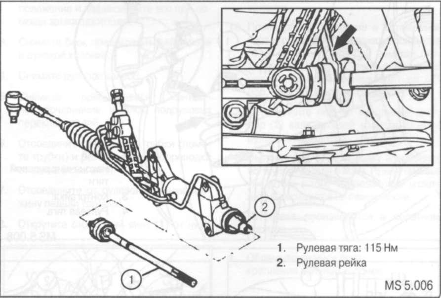 7.4 Снятие и установка вращающегося контактного сочленения(ВКС)