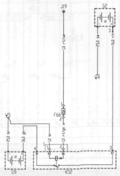 10.1 пуска и зарядки (Двигатель 611.981/987 на моделях 901.6,902.6, 903.6, 904.6 и двигатель 612.981 на моделях 902.6, 903.6, 904.6,