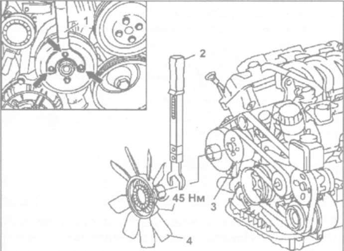 9.2 Снятие и установка радиатора
