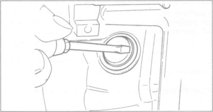 9.5 Снятие и установка насоса охлаждающей жидкости