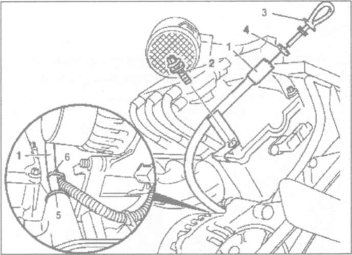 10.3 Снятие и установка корпуса масляного фильтра и маслоохладителя