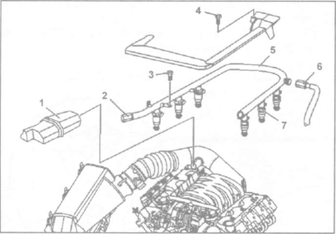 11.7 Снятие и установка топливного насоса