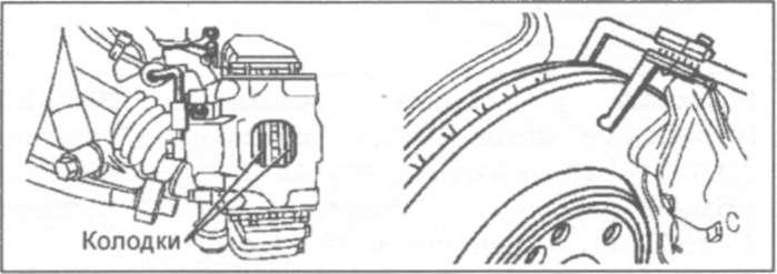 20.7.1 Тормозной механизм с неподвижным суппортом