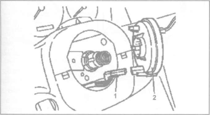 24.2 Снятие и установка блока управления SRS