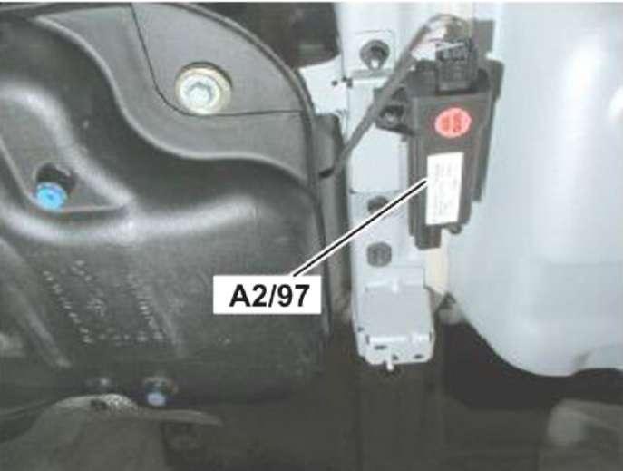 давление в колесах мерседес w164