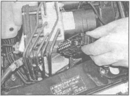передней стороне агрегата
