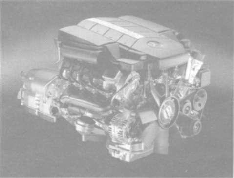 Система впрыска 8-цилиндрового