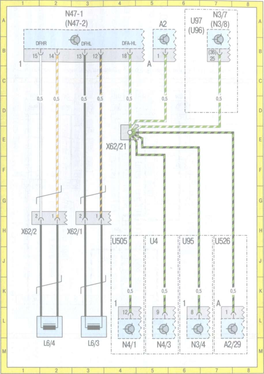 Мерседес w210 схема предохранителей