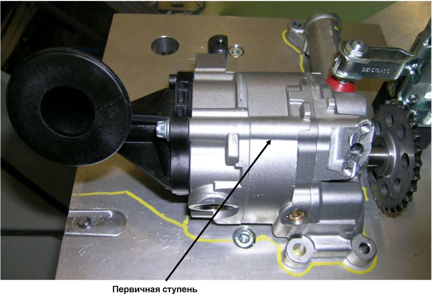 схема турбонаддува бензинового двигателя